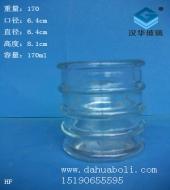 170ml竹节玻璃烛台