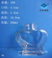 290ml心形许愿玻璃瓶