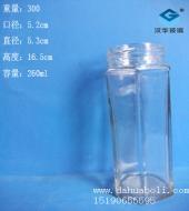 250ml六棱果汁玻璃瓶