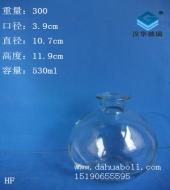 500ml圆球香薰玻璃瓶