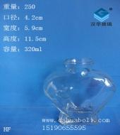 320ml心形许愿玻璃瓶