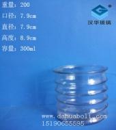 300ml竹节蜡烛玻璃杯