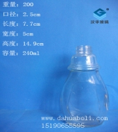 240ml麻油玻璃瓶