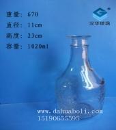 100ml工艺玻璃酒瓶