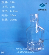 200ml卡扣玻璃油壶