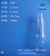 280ml锥形麻油玻璃瓶