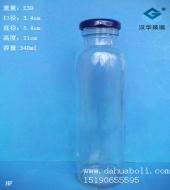 340ml果汁玻璃瓶