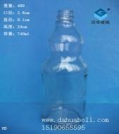 740ml酱油醋玻璃瓶
