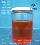 700ml黄桃罐头玻璃瓶