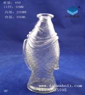350ml鱼型玻璃许愿瓶