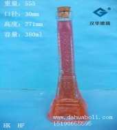 380ml大号铁塔玻璃瓶