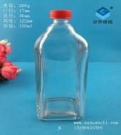 130ml长方形风油精玻璃瓶