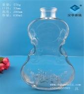 630ml工艺玻璃酒瓶