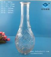 880ml出口工艺玻璃酒瓶