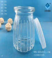 150ml竖条布丁玻璃瓶