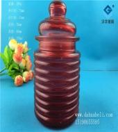 250ml喷涂玻璃储物罐
