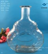 750ml工艺玻璃酒瓶