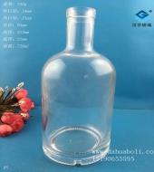 720ml伏特加玻璃酒瓶