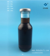 200ml玻璃果汁瓶