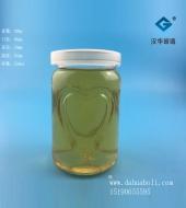 200ml心形布丁玻璃瓶