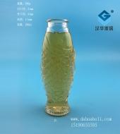 200ml鱼形许愿玻璃瓶