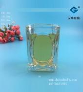 60ml方形蜡烛玻璃杯
