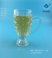 70ml鱼鳞手把玻璃果汁杯