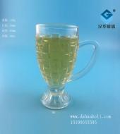 80ml方格玻璃手把杯