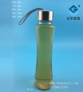 280ml收腰手提玻璃果汁瓶
