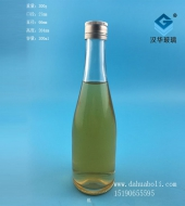 300ml玻璃白酒瓶