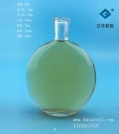 300ml玻璃扁圆酒瓶