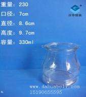 330ml双耳玻璃花瓶